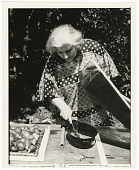 view Countess Stella Andrassy Demonstrates Solar Cooking at the Festival of American Folklife digital asset number 1
