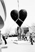 view Installation of Jim Dine's Exhibit at HMSG digital asset number 1