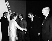 view President and Mrs. Reagan at NASM digital asset number 1