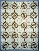 """view 1885 - 1895 Mary Harris's """"Butter and Eggs"""" Quilt digital asset number 1"""
