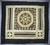view 1835 - 1845 Quaker Trousseau Pieced Quilt digital asset number 1