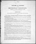 view Programme of Organization for the Smithsonian Institution digital asset number 1