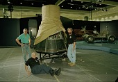"""view """"Freedom7"""" Mercury Spacecraft Installed at LA Convention Center digital asset number 1"""