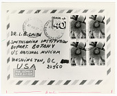 view Envelope with Neoregelia carolinae Stamps digital asset number 1