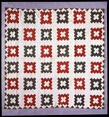 """view 1853 Rachel Roseberry's """"Album Patch"""" Quilt digital asset: quilt"""