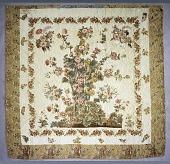 view 1825 - 1850 Flowering Tree Appliqued Quilt digital asset number 1