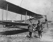 view Orville Wright and H. Rinehart with Dayton-Wright DeHavilland 4 digital asset number 1