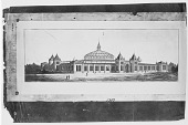 view Preliminary Drawing by Cluss & Meigs for United States National Museum digital asset number 1