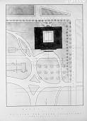 view Block Plan of Building for Freer Gallery of Art digital asset number 1