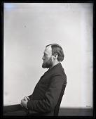 view Portrait in Profile of Ferdinand Vandeveer Hayden (1829-1887) digital asset number 1