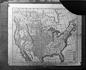 """view """"Map Showing the Forest and Prairie Lands of the United States, and British America"""" digital asset number 1"""
