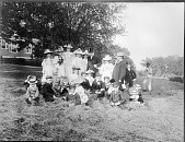 view Secretary Langley with Children digital asset number 1