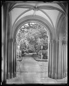 view North Carriage Porch of Smithsonian Institution Building digital asset number 1
