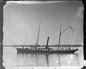 view Unidentified Steamer Ship at Woods Hole, Massachusetts digital asset number 1