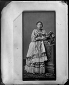 view Photograph of Carte-de-visite of Unidentified Woman digital asset number 1