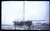 view Fishing Schooner on Marine Railway digital asset number 1