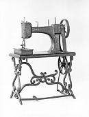 view Sewing Machine Patent Model digital asset: Patent model, sewing machine, Smith, 1870