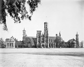 view North Facade of Smithsonian Building digital asset number 1