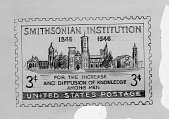 view Smithsonian 1946 Commemorative Stamp digital asset number 1