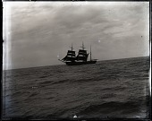 """view USFC Steamer """"Albatross"""" Survey of Fishing Banks from Newport to Newfoundland, 1885 digital asset number 1"""