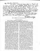 view W. T. Hornaday Note about Bison Specimens digital asset number 1