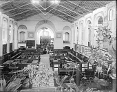 view East Exhibit Hall, A&I, c. 1880s digital asset number 1