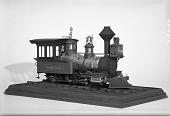 view Model of the 1867 Steam Locomotive <i>Sampson</i> digital asset: Model, locomotive. Locomotive Sampson.