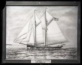 "view Painting of U.S. Fish Commission Schooner ""Grampus"" digital asset number 1"