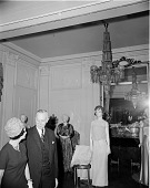 view Lady Bird Johnson Visits First Ladies Hall digital asset number 1