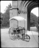 view Copeland Steam-propelled Tricycle in Front of the Castle digital asset number 1