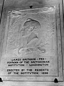 view James Smithson Memorial Tablet digital asset number 1