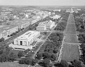 view North Side of The Mall Looking Towards Capitol Building, 1965 digital asset number 1