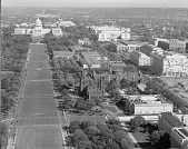 view South Side of The Mall Looking Towards Capitol Building, 1965 digital asset number 1