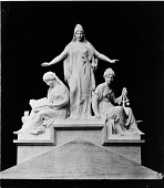 view Columbia Protecting Science and Industry Statue Sits atop U.S. National Museum (A&I) digital asset number 1