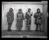 "view ""Some Varieties of Eskimo Clothing"" Exhibit Case digital asset number 1"