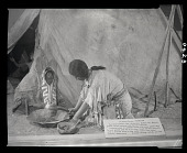 "view ""An Indian Recipe: Pemmican"" Outside Teepee Exhibit digital asset number 1"
