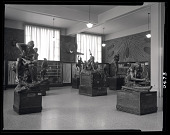 view Herbert Ward Sculptures and Artifacts from Africa on Exhibit in Hall 7 at Museum of Natural History digital asset number 1