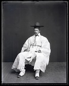 view Walter G. Hough Models Traditional Korean Costume digital asset number 1