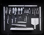 """view Set of Plasterer's Tools from Japan, """"Sakuwan Dogu"""" digital asset number 1"""
