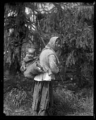 view Turkish Woman Carrying Baby on Back in Washington Territory digital asset number 1