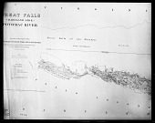 "view Map, ""Great Falls (Maryland Side) of the Potomac River"" digital asset number 1"