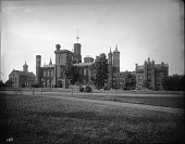 view South Facade of the Smithsonian Institution Building digital asset number 1