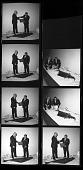 view Senator Warren Magnuson Presents a Pacific Halibut to Smithsonian digital asset number 1