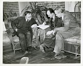 view Gregory Breit (1899-1981), Enrico Fermi (1901-1954), and George Gamow (1904-1908) digital asset number 1