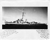"view U.S.S. ""Frederick C. Davis"", Last Warship Lost in the European Theater WWII digital asset number 1"