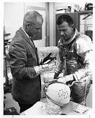 view (left to right): John Hershel Glenn, Jr. (b. 1921) and Gordon Cooper (1927-2004) digital asset number 1