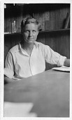 view Muriel A. Case (1901-1981), sitting in lab digital asset number 1