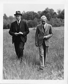 view (left to right): Henry Hallett Dale (1875-1968) and Lewis Ryers Thompson, M.D. (1883-1954) digital asset number 1
