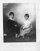 view (left to right): Charles Robert Darwin (1809-1882) and Emily Catherine Darwin (1810-1866) digital asset number 1