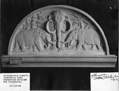 view Tympanum Over Doorway to Building for Pachyderms digital asset number 1